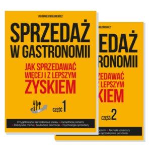 okładki Sprzedaż w gastronomii 1 i 2